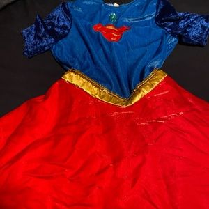 Super girl costume dress